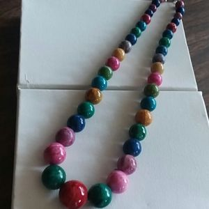 Jewelry - Colorful Bead Necklace Necklace.